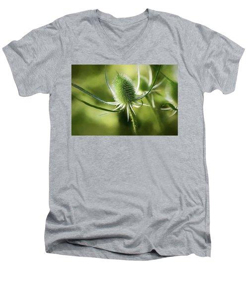 Wonderful Teasel 2 - Men's V-Neck T-Shirt
