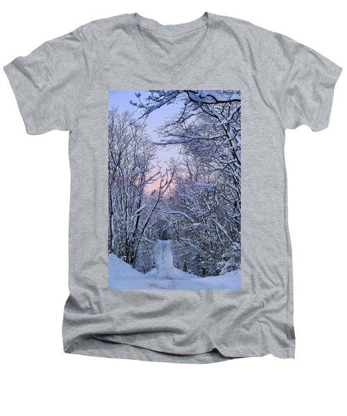 Wonderland Road Men's V-Neck T-Shirt