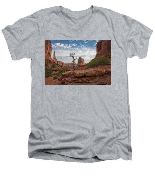 Wonders Along Park Avenue Men's V-Neck T-Shirt