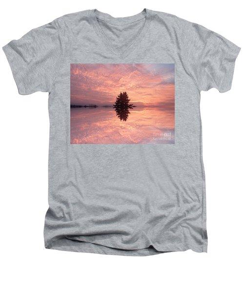 Wondrous Clouds       Men's V-Neck T-Shirt