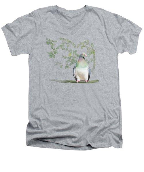 Wood Pigeon Men's V-Neck T-Shirt