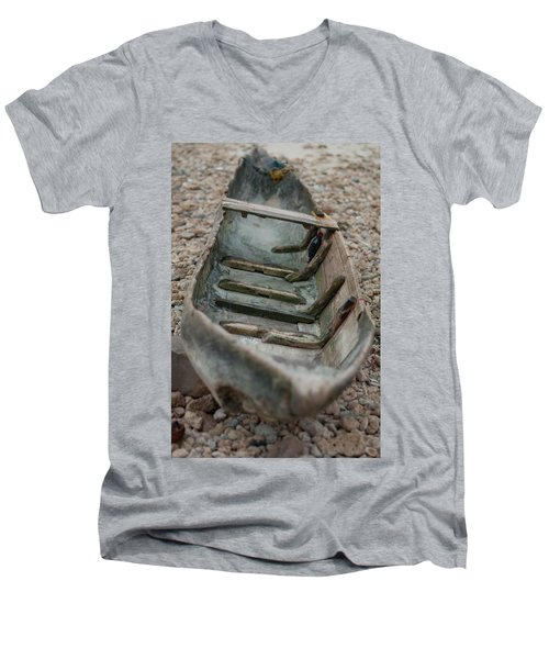 Wooden Boat1 Men's V-Neck T-Shirt