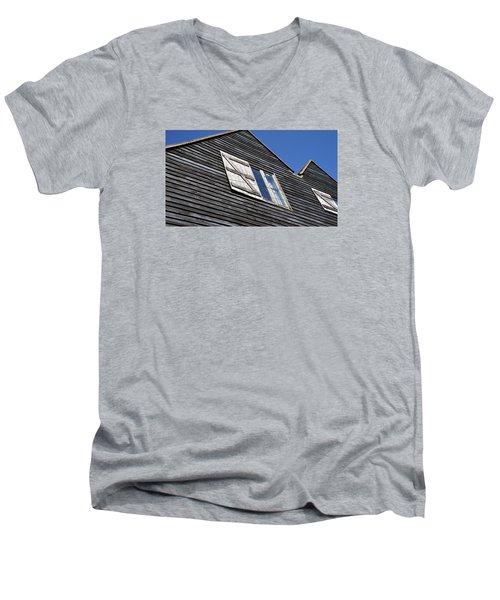Wooden Men's V-Neck T-Shirt