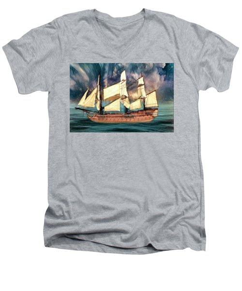 Wooden Ship Men's V-Neck T-Shirt