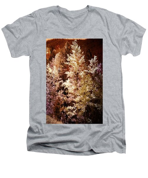 Woodland Beauty Men's V-Neck T-Shirt