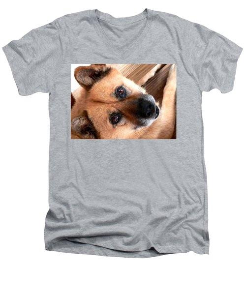 Woodrow Wooten Men's V-Neck T-Shirt