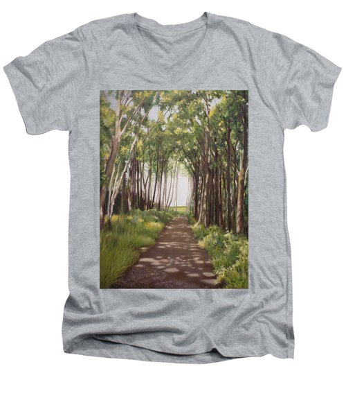 Woods Men's V-Neck T-Shirt