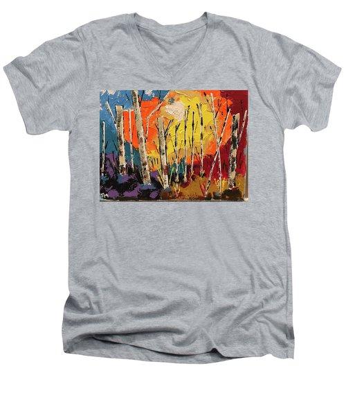 Woods Men's V-Neck T-Shirt