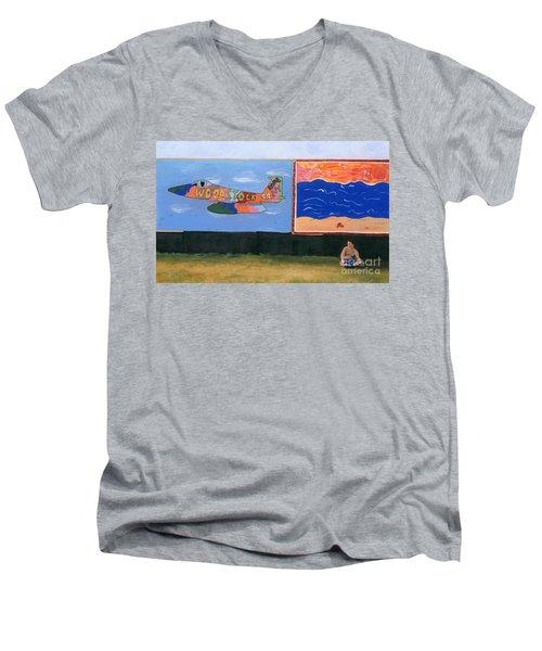 Woodstock 99 Revisited Men's V-Neck T-Shirt