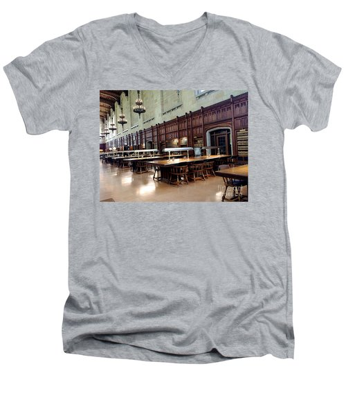 Woodwork Men's V-Neck T-Shirt