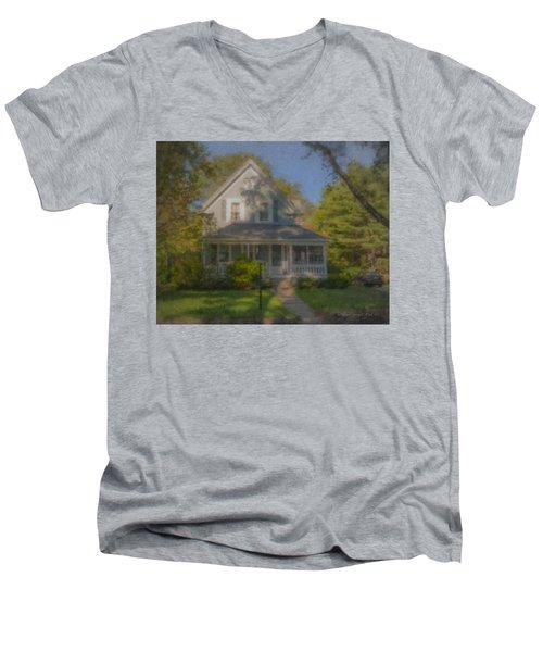 Wooster Family Home Men's V-Neck T-Shirt