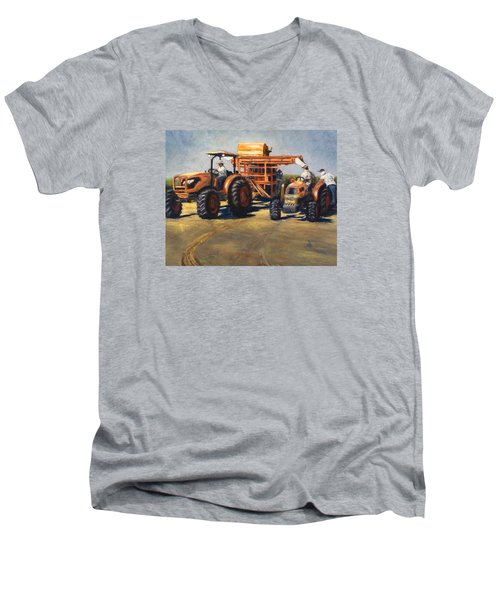 Workin' At The Ranch Men's V-Neck T-Shirt