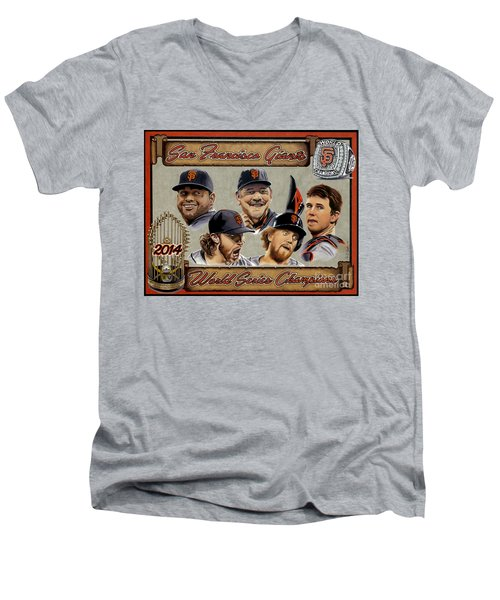 World Champs Men's V-Neck T-Shirt