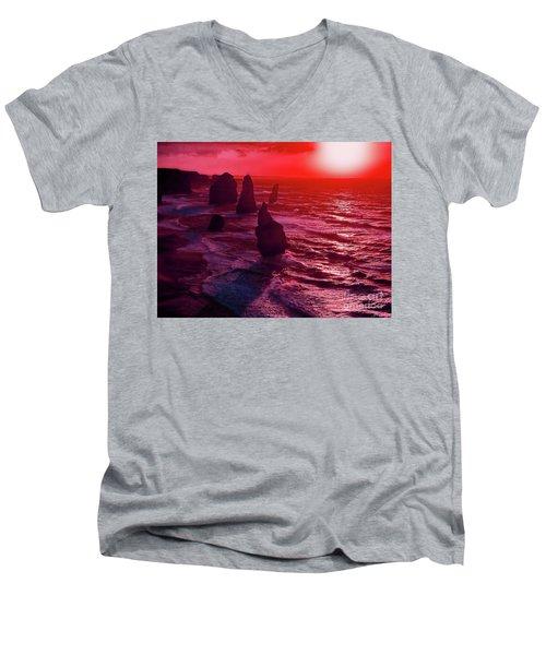 World's End Men's V-Neck T-Shirt