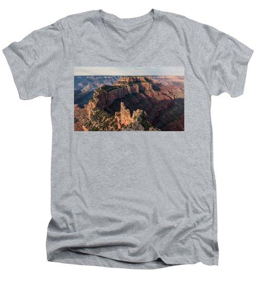 Wotan's Throne Panorama II Men's V-Neck T-Shirt