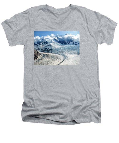 Wrangell Alaska Glacier Men's V-Neck T-Shirt