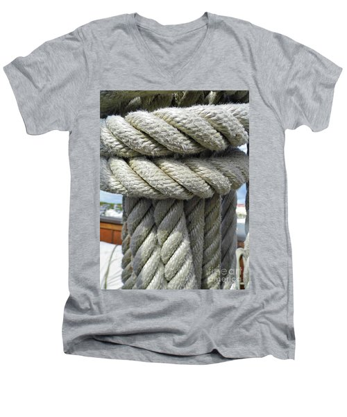 Wrapped Up Tight Men's V-Neck T-Shirt