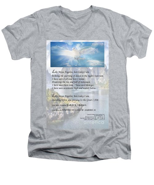 Writer, Artist, Phd. Men's V-Neck T-Shirt
