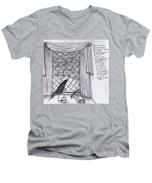 Writer's Veiw Men's V-Neck T-Shirt