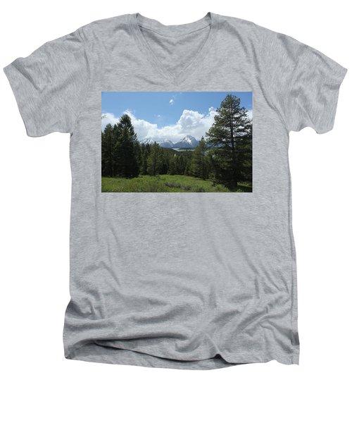 Wyoming 6500 Men's V-Neck T-Shirt