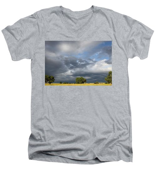Wyoming Sky Men's V-Neck T-Shirt