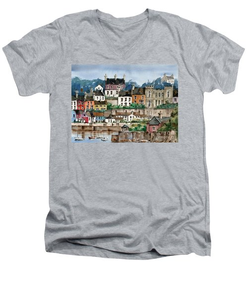 F 762   Kinsale Harbour, Cork Men's V-Neck T-Shirt
