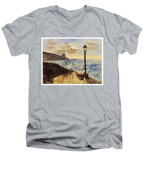Xlendi Gozo Men's V-Neck T-Shirt