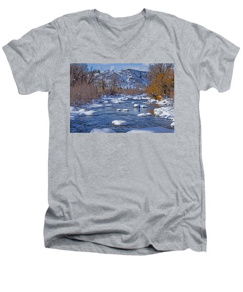 Yampa River Men's V-Neck T-Shirt