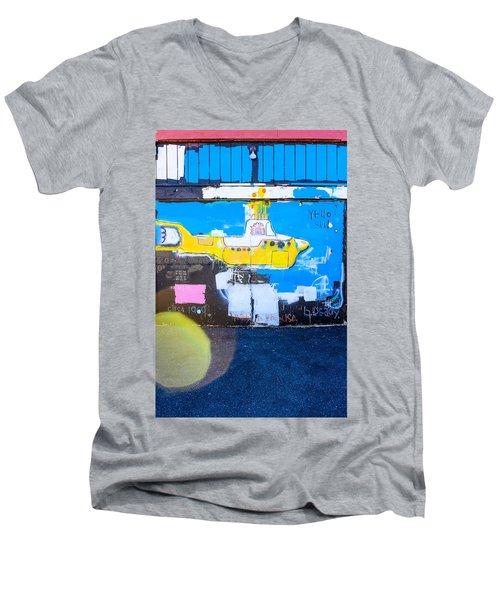 Yello Sub Men's V-Neck T-Shirt