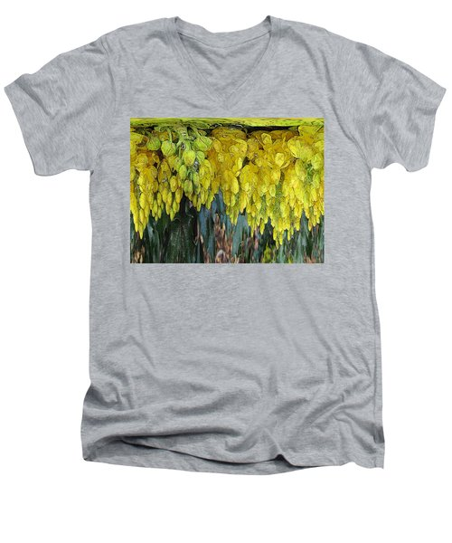 Yellow Buds Men's V-Neck T-Shirt