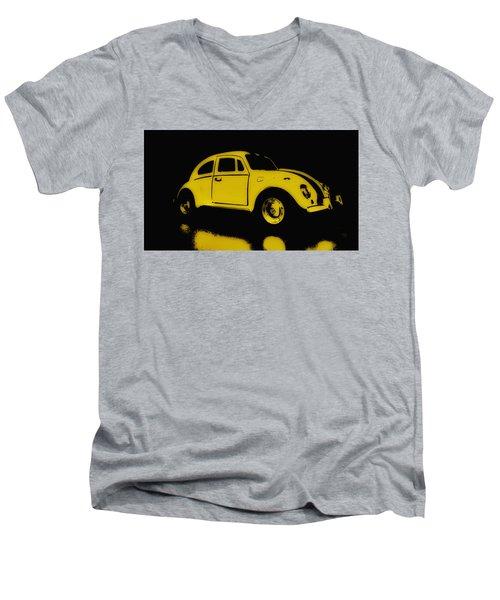 Yellow Bug Men's V-Neck T-Shirt