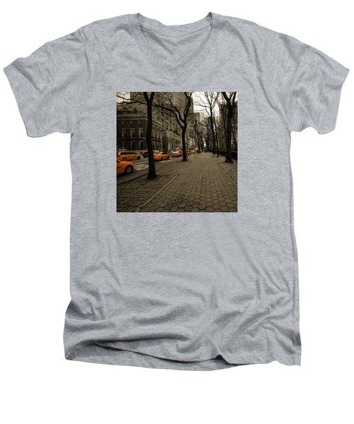 Yellow Cab Men's V-Neck T-Shirt
