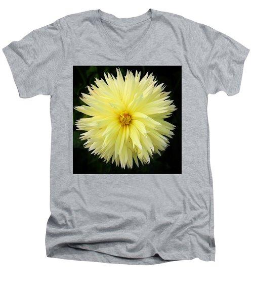 Yellow Dahlia Men's V-Neck T-Shirt