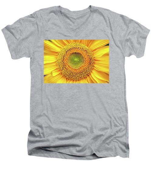 Yellow Eye Men's V-Neck T-Shirt