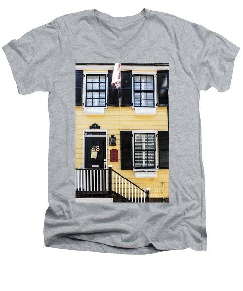 Yellow House Men's V-Neck T-Shirt
