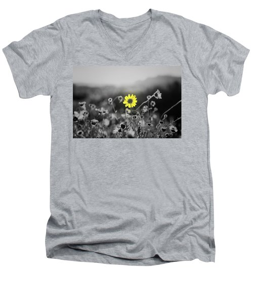 Yellow Is The Color Men's V-Neck T-Shirt