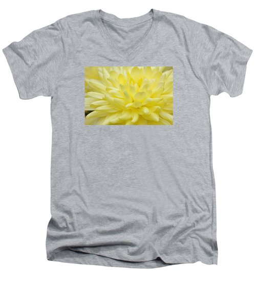 Yellow Mum Men's V-Neck T-Shirt