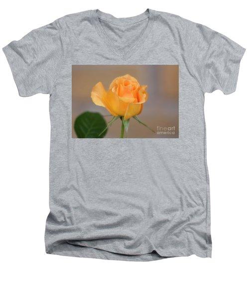 Yellow Rose Of Texas Men's V-Neck T-Shirt