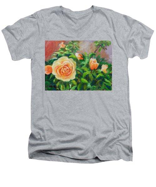 Yellow Roses Men's V-Neck T-Shirt