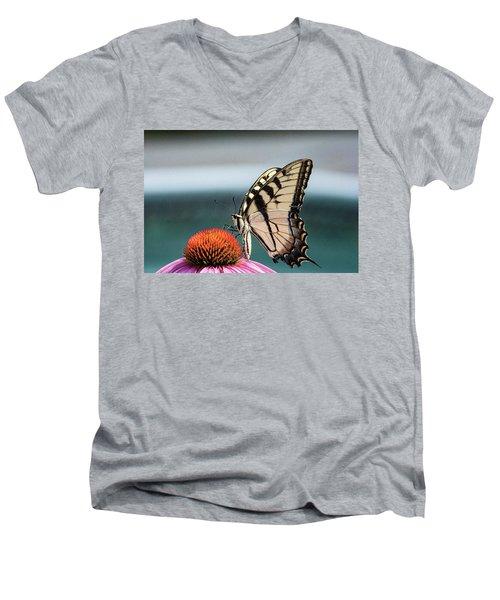 Yellow Swallowtail II Men's V-Neck T-Shirt