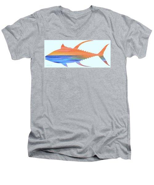 Yellowfin Sunset Beach Men's V-Neck T-Shirt