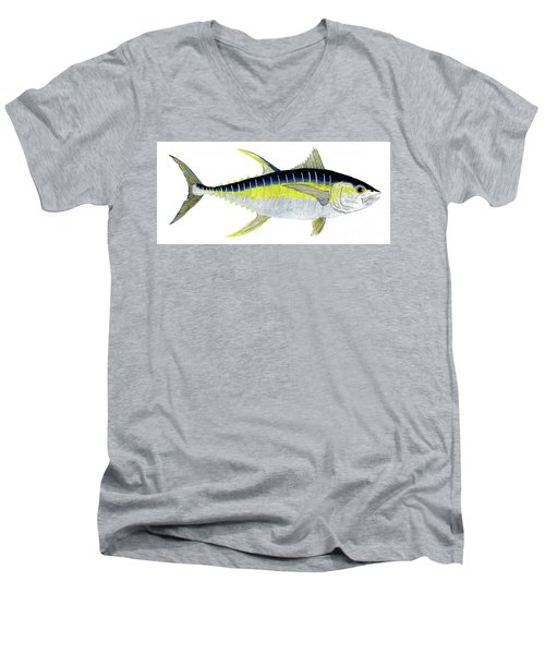 Yellowfin Tuna Men's V-Neck T-Shirt