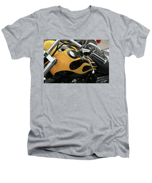 Yellowjacket Men's V-Neck T-Shirt