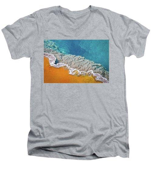Yellowstone Pool Men's V-Neck T-Shirt