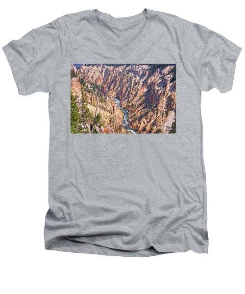 Yellowstone River Men's V-Neck T-Shirt