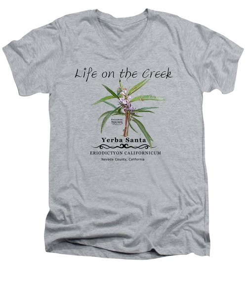 Yerba Santa Men's V-Neck T-Shirt