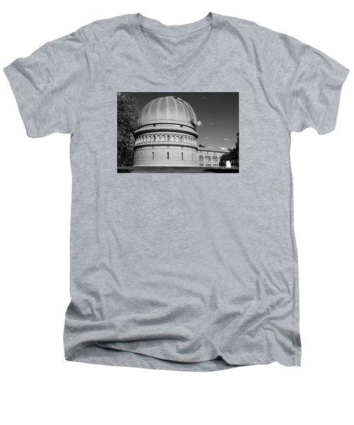 Men's V-Neck T-Shirt featuring the photograph Yerkes Observatory  by Ricky L Jones