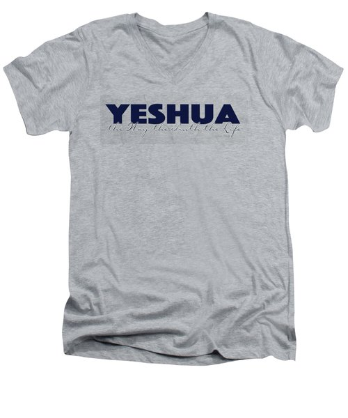 Yeshua John 14 Men's V-Neck T-Shirt