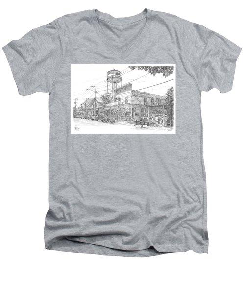 Yesterday Today Men's V-Neck T-Shirt