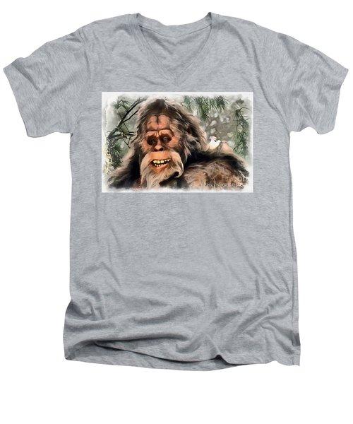 Yeti Men's V-Neck T-Shirt